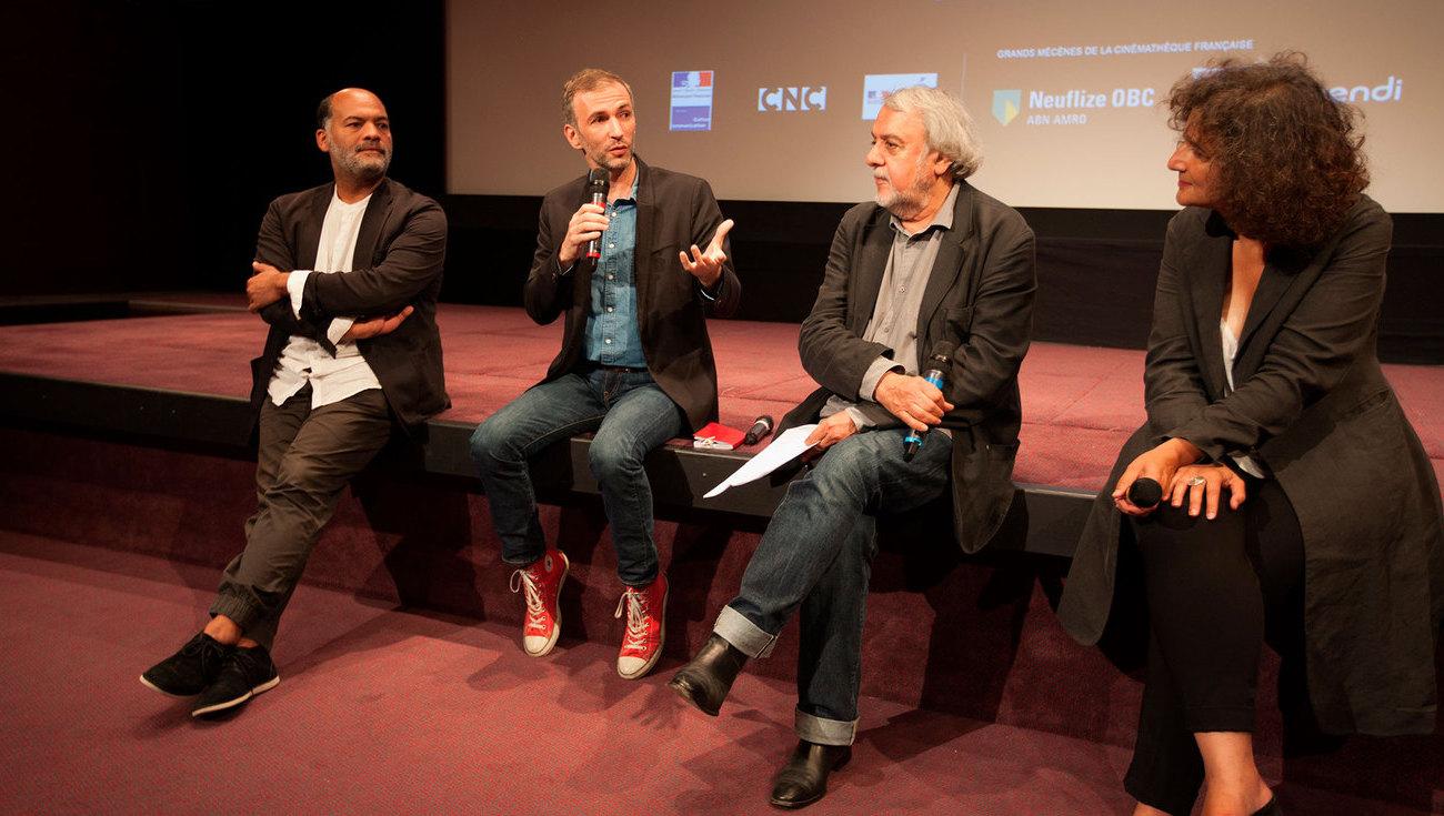 Gilles Elie-dit-Cosaque, Thomas Salvador et Alain Bergala