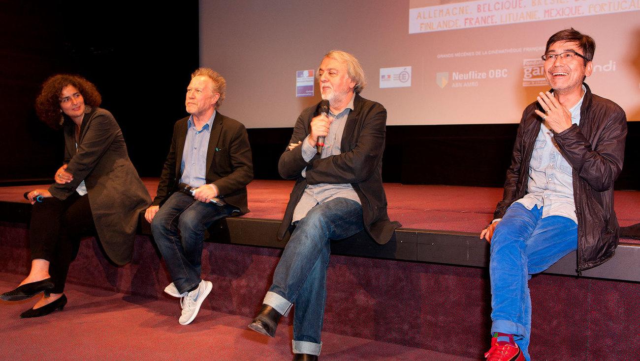 Nicolas Philibert, Alain Bergala et Nobuhiro Suwa - 1
